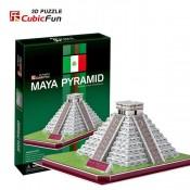 Inskriptionernas Tempel - Maya pyramiderna i Mexiko