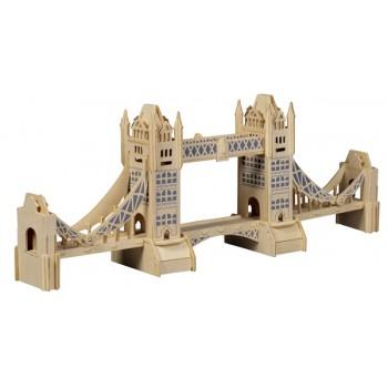 Tower Bridge - London (med färgtryck)