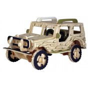 Jeep med motivlack