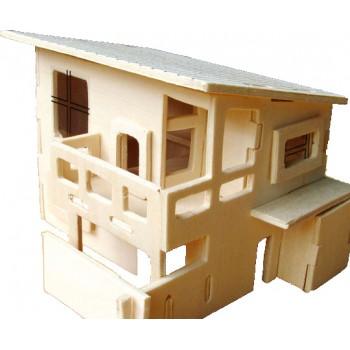 Modernt japanskt hus