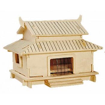Traditionell Kinesiskt hus
