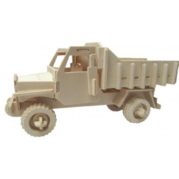 Lastbil med rörligt tippflak