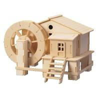 Vattenkvarn med roterbar vattenhjul