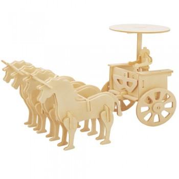 Romersk häststridsvagn