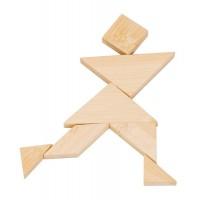 Bambu-3D-pussel - Tangram