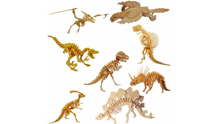 8-pack Dinosaurier